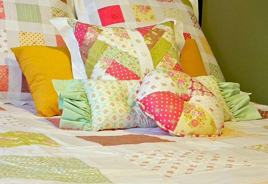 Как сшить прямоугольную подушку