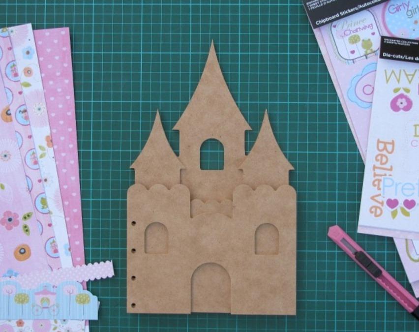 Замок-органайзер для маленькой принцессы
