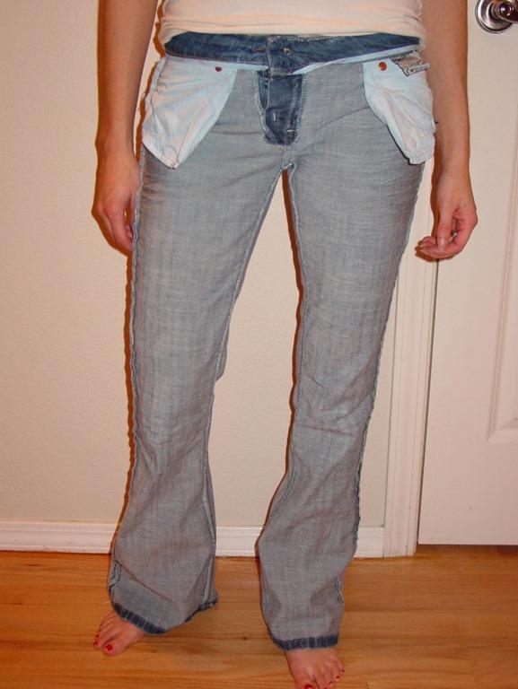 Ушить брюки в домашних условиях