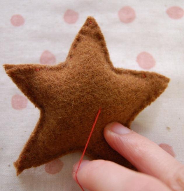 Как сделать новогодние звезды