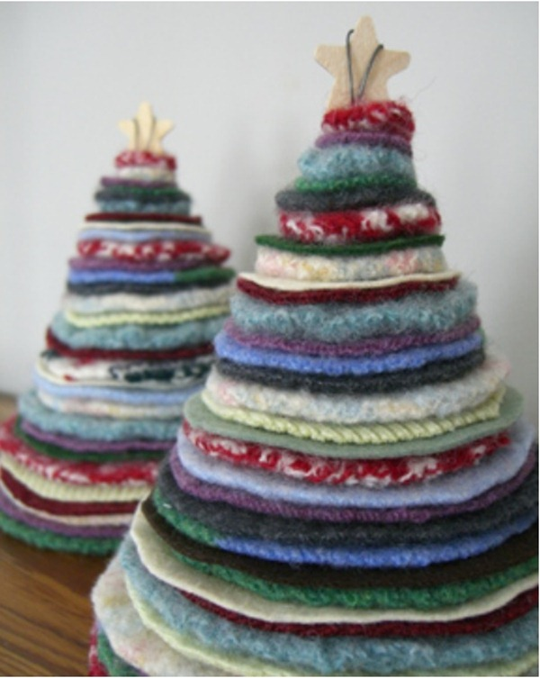 Наверняка в вашем доме есть ненужные старые свитера, махровые полотенца или флисовые вещи, из них то и лучше всего...
