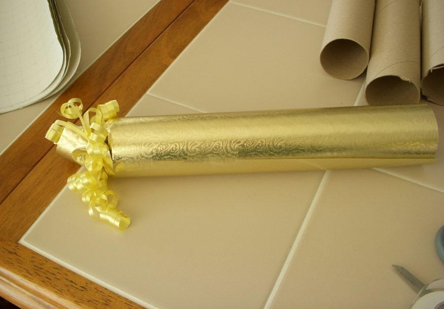 Как сделать новогодние подарки-конфеты