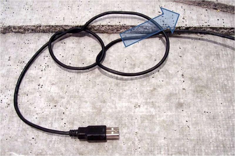 Как укоротить USB кабель