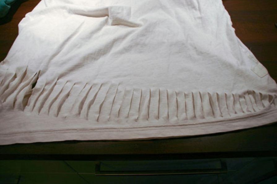 Как красиво порвать футболку