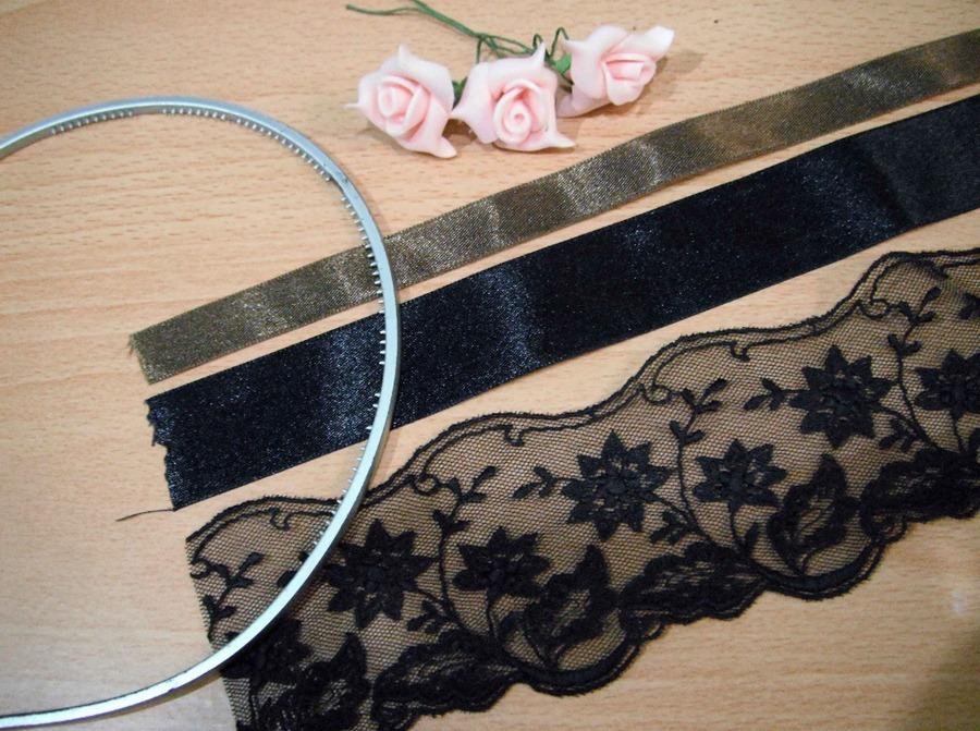 Как сделать готический обруч