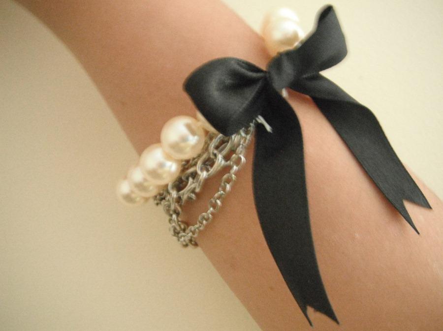 Как сделать браслет в стиле Шанель