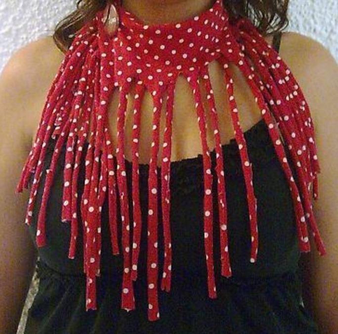 Как сделать самый простой модный шарф