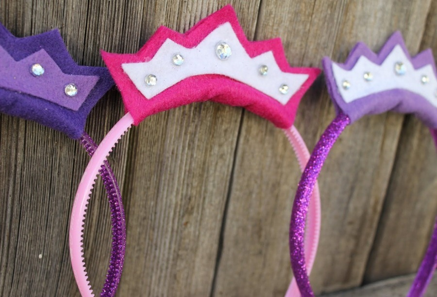 Как сделать ободок-корону для ребенка (Из интернета) .