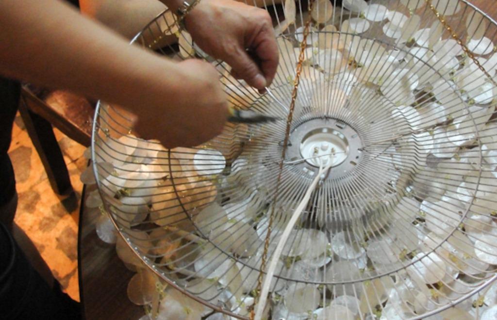 Как сделать люстры из бумаги