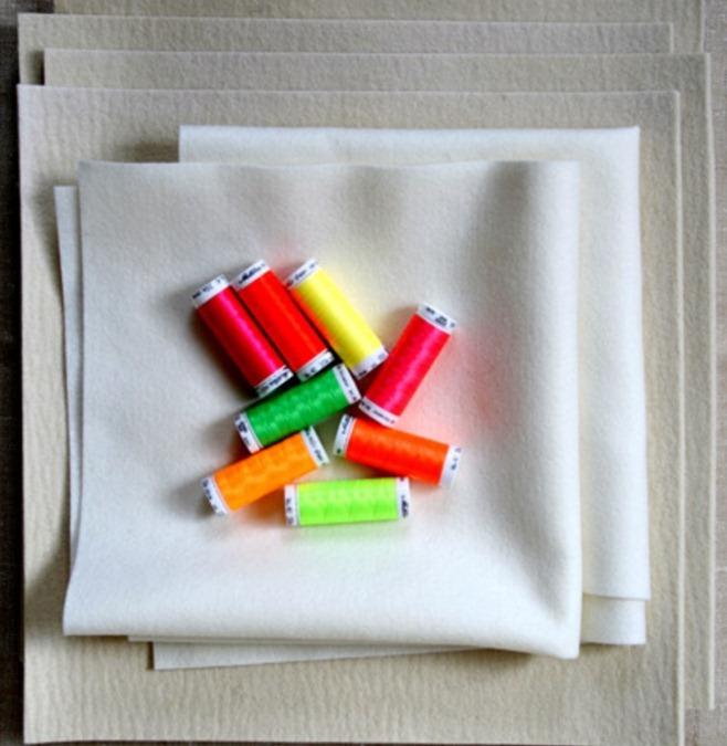 Как сделать украшение из фетра для интерьера