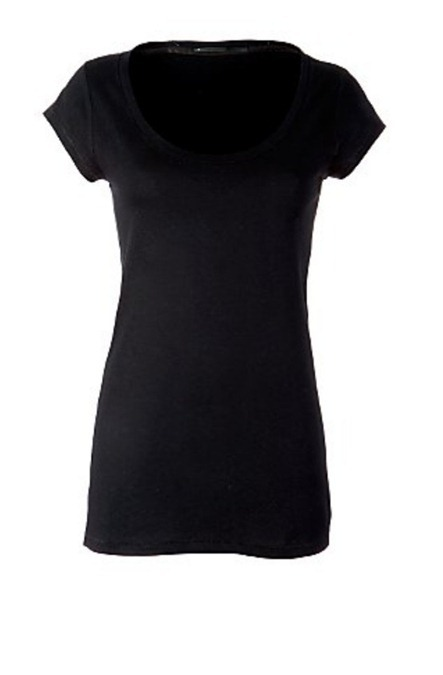 Украшение футболки с помощью тесьмы