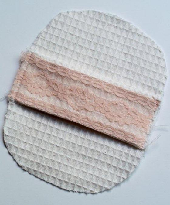 Как сшить мочалку из старого полотенца