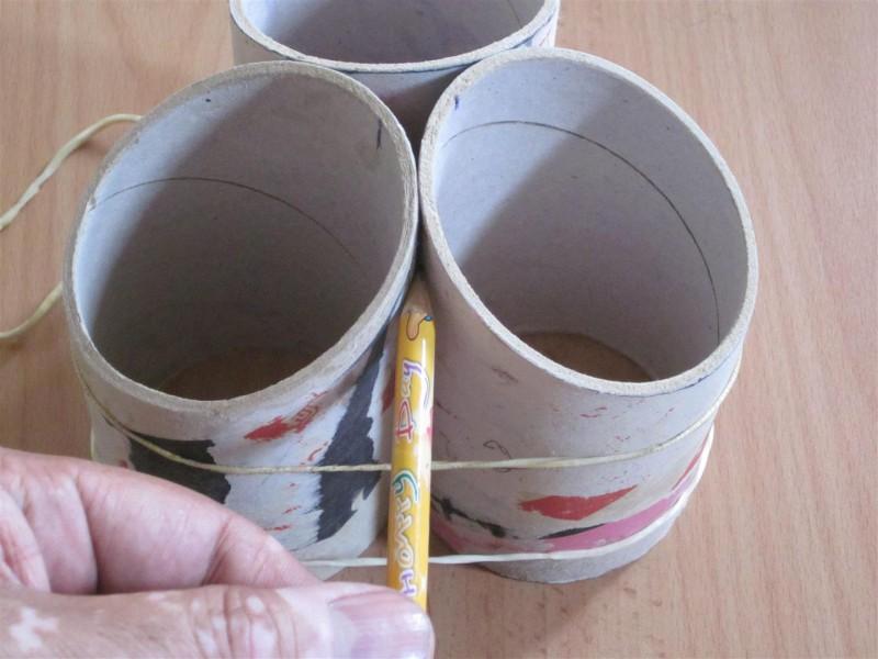 Как сделать органайзер для карандашей