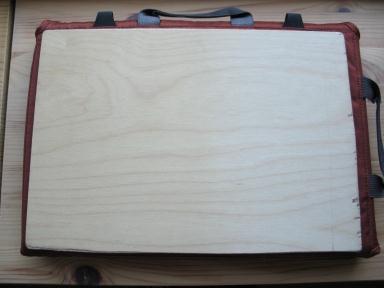 Идея сумки-подставки для ноутбука