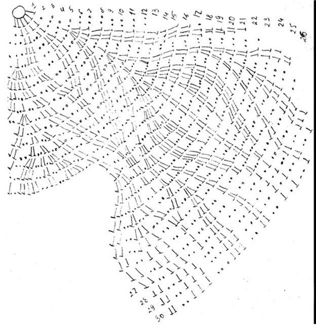 Летний ажурный беретик