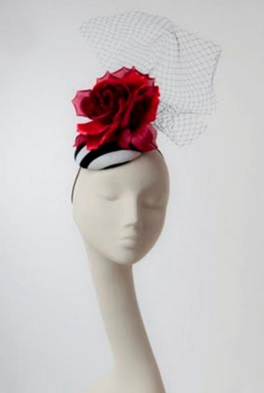 Сделать шляпку с вуалью своими руками
