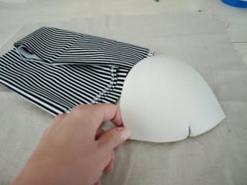 Как сделать ободок-шляпку