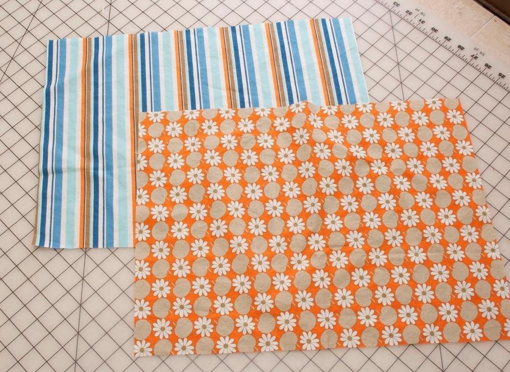 Салфетка из ткани на стол своими руками 282