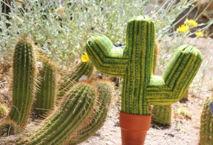 Как сшить мексиканский кактус