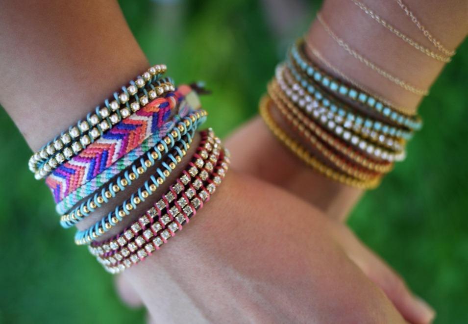 Делаем браслеты красивые