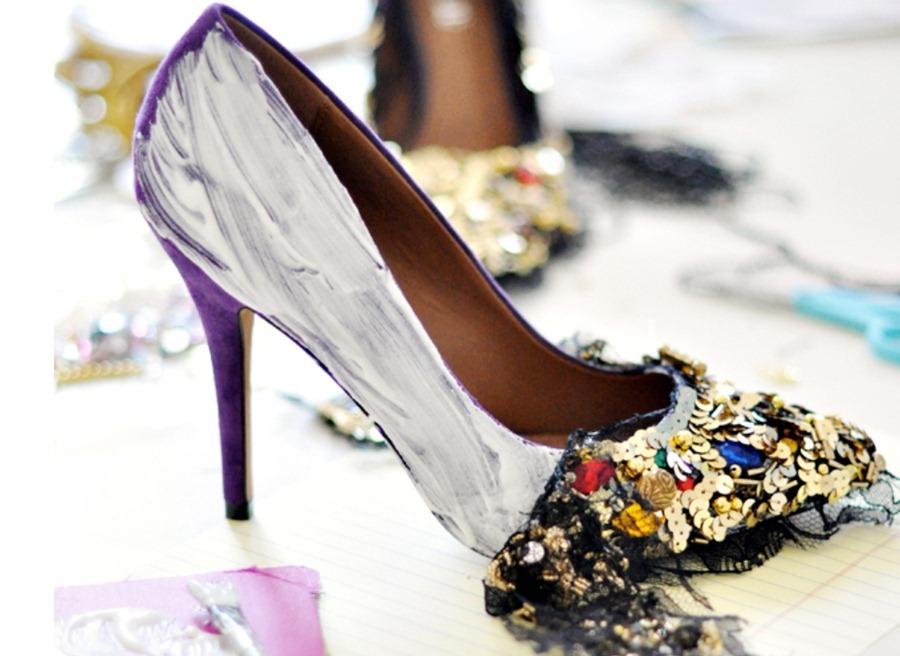 Туфли на шпильке своими руками