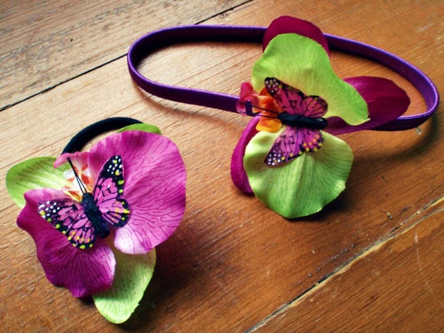 Орхидея для волос