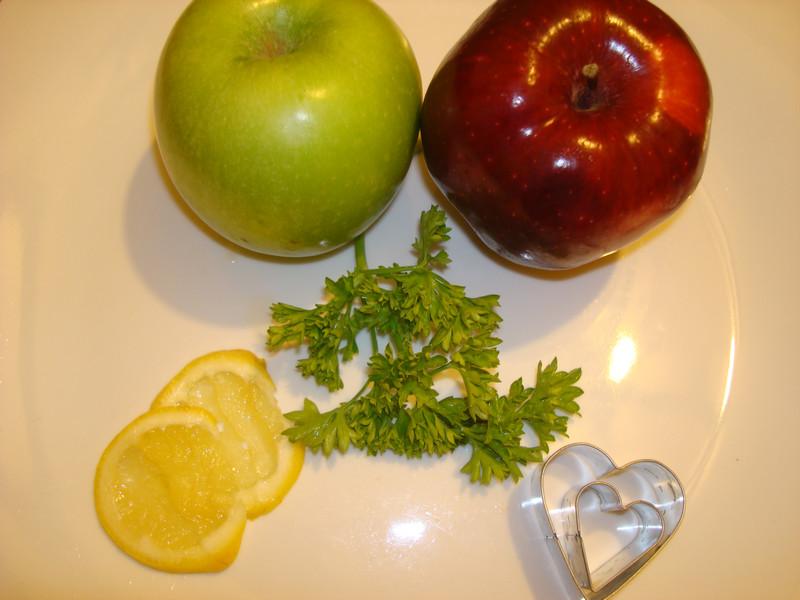 Сердечные яблочки