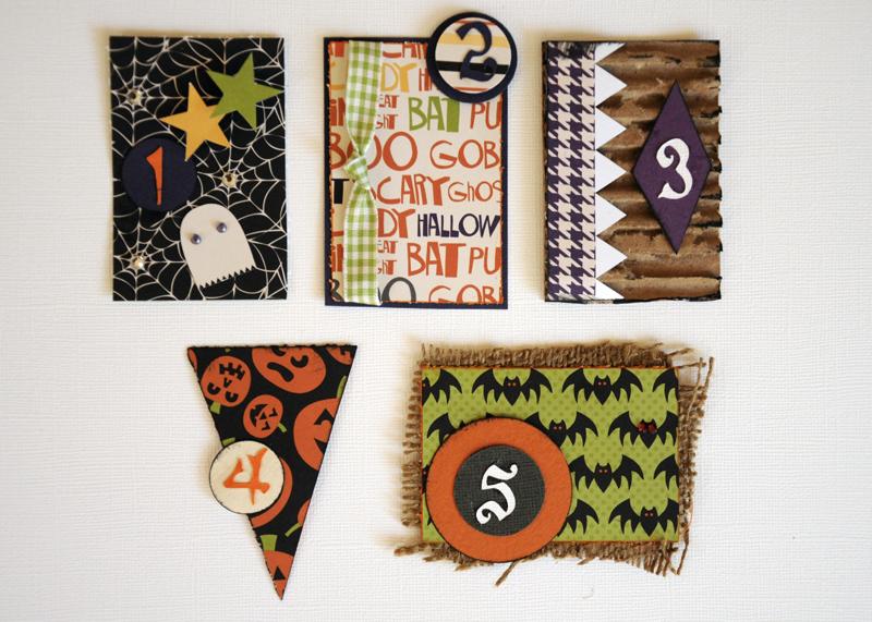 Календарь в ожидании Хэллоуина