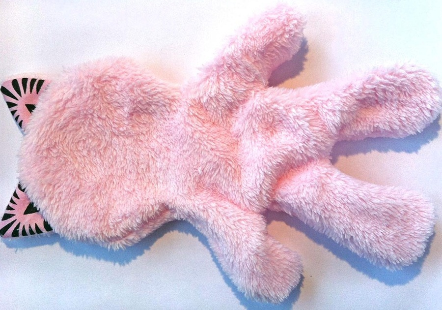 Как сшить игрушку Pink Kitty