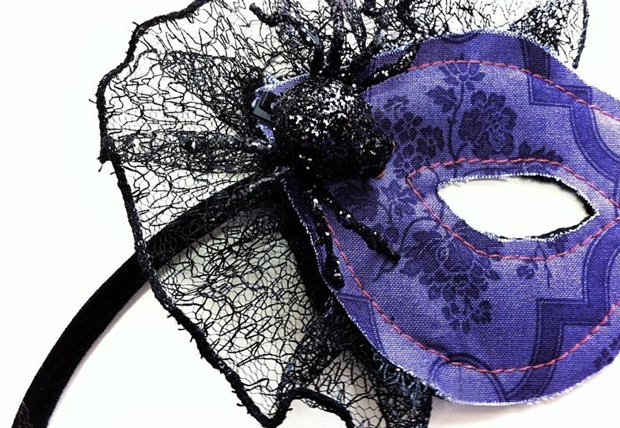 Как сделать Новогоднюю маску в готическом стиле