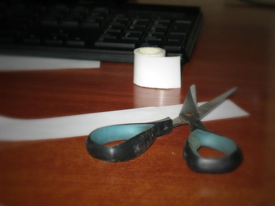 Заметки-стикеры в виде браслета на запястье (4)
