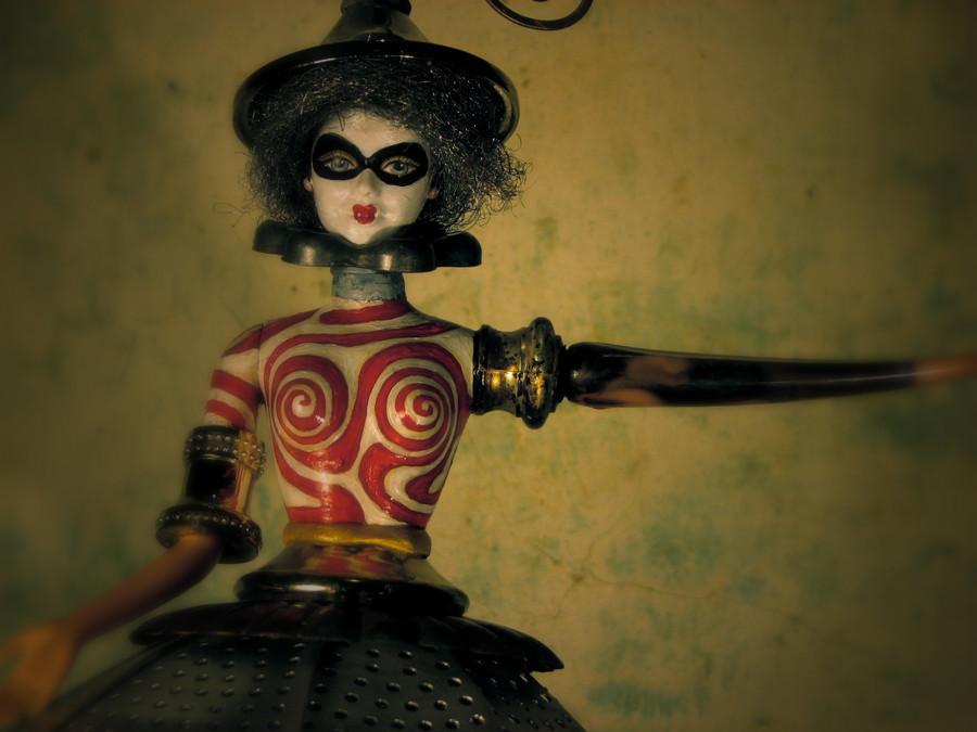 Скульптуры из металлического лома Натали Трепаньер (4)