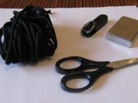 Как сделать новый корпус для флешки из шнурка