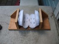 Как сделать устройство для чистки обуви