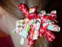 Как сделать яркие резинки для девочки