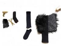 Как сделать меховые ботиночки