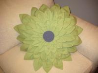 Как сшить подушку, в виде цветка георгины