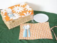 Как сшить салфетки для пикника