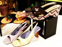 Декупаж летней обуви
