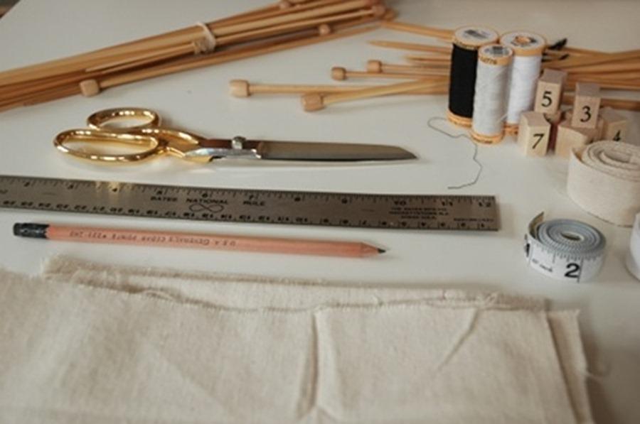 Как сшить органайзер для прямых спиц и крючков