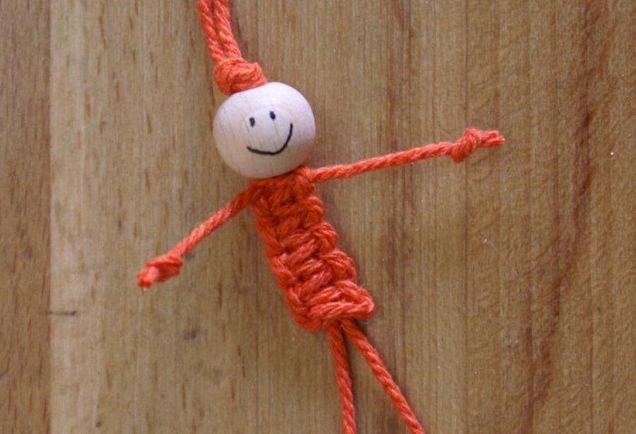 Смешная куколка своими руками