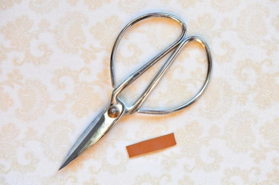 Как сделать кожаный браслет-бант