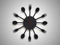 Вкусные часы для кухни (8)