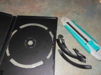 Как сделать коробку для карандашей из упаковки для DVD (17)