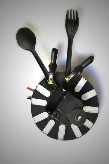 Вкусные часы для кухни (5)