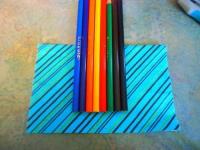 Как сделать коробку для карандашей из упаковки для DVD (8)