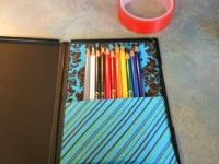 Как сделать коробку для карандашей из упаковки для DVD (4)