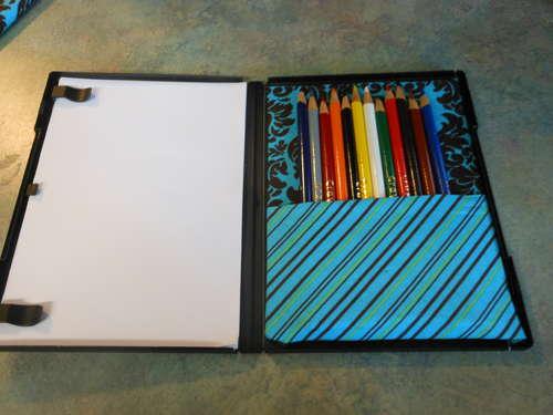 Как сделать коробку для карандашей из упаковки для DVD (1)