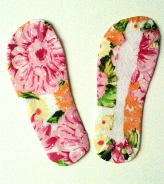 Из летней обуви в домашние тапочки