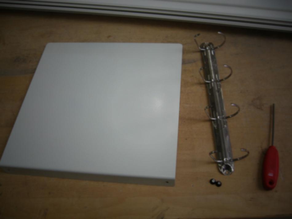 Как сделать переносной настольный органайзер для инструкций и документов (3)